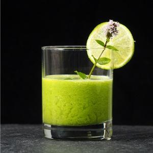 Rezept Grüner Smoothie mit Granny Smith und Thaibasilikum