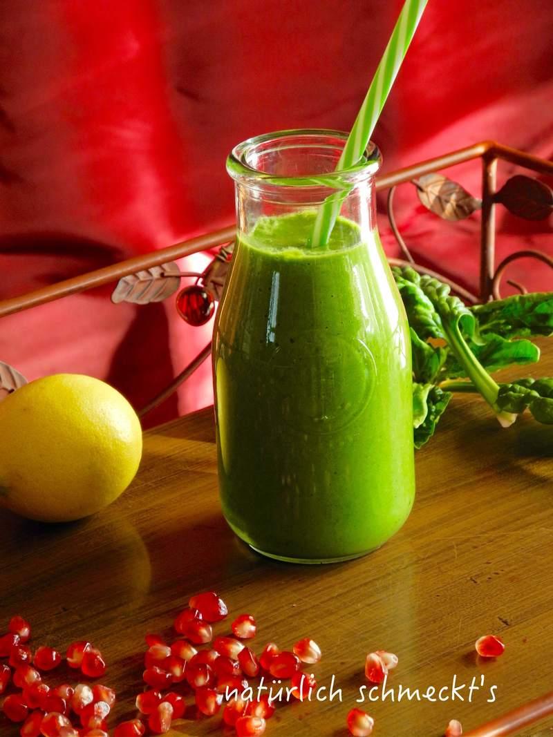 Rezept Grüner Smoothie mit Spinat