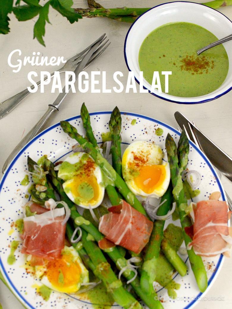 Rezept Grüner Spargelsalat