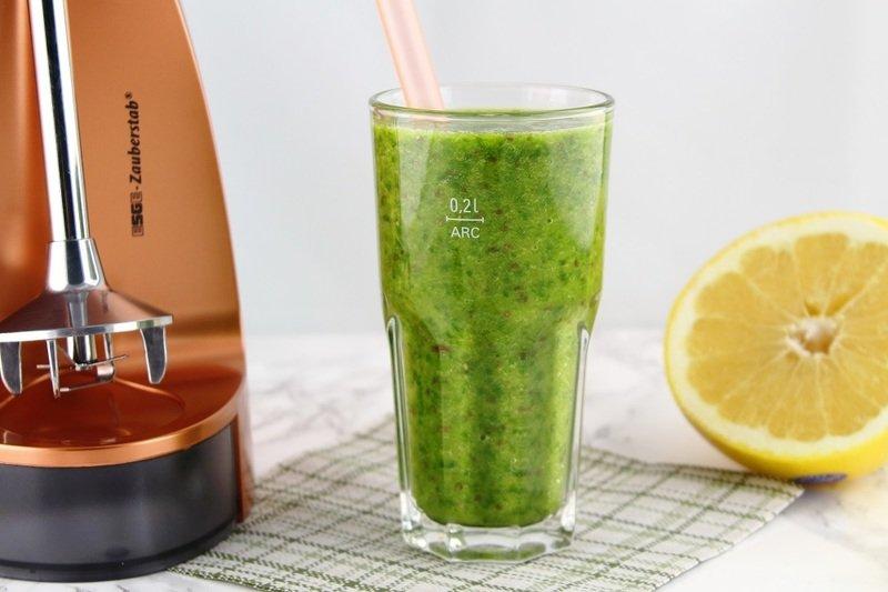 Rezept Grüner Spinat-Orangen-Smoothie