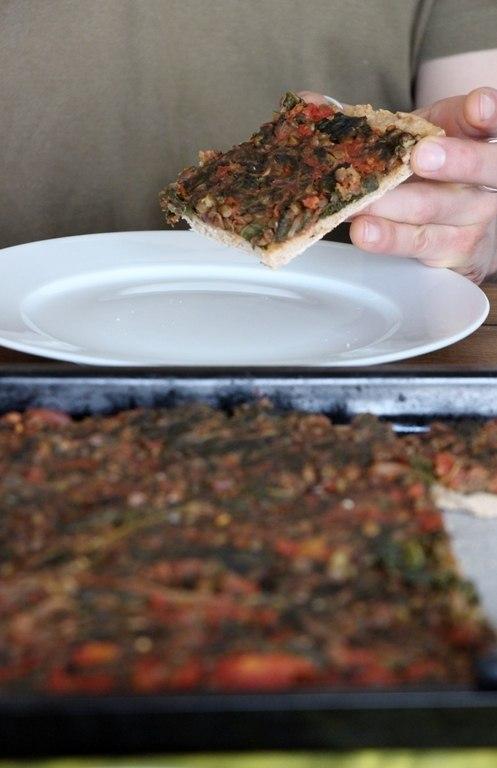 Rezept Grünkohl Pizza