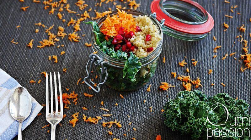 Rezept Grünkohlsalat mit Quinoa