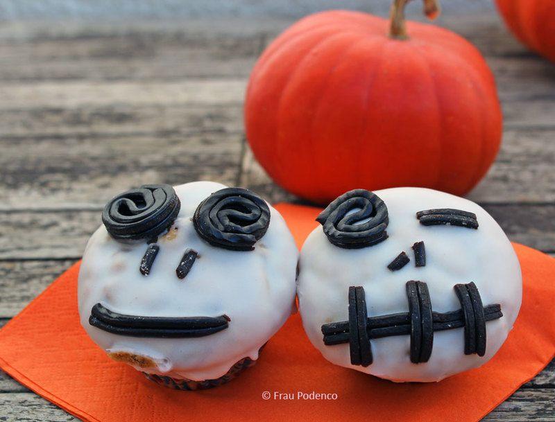 Rezept Gruselige Halloween Muffins