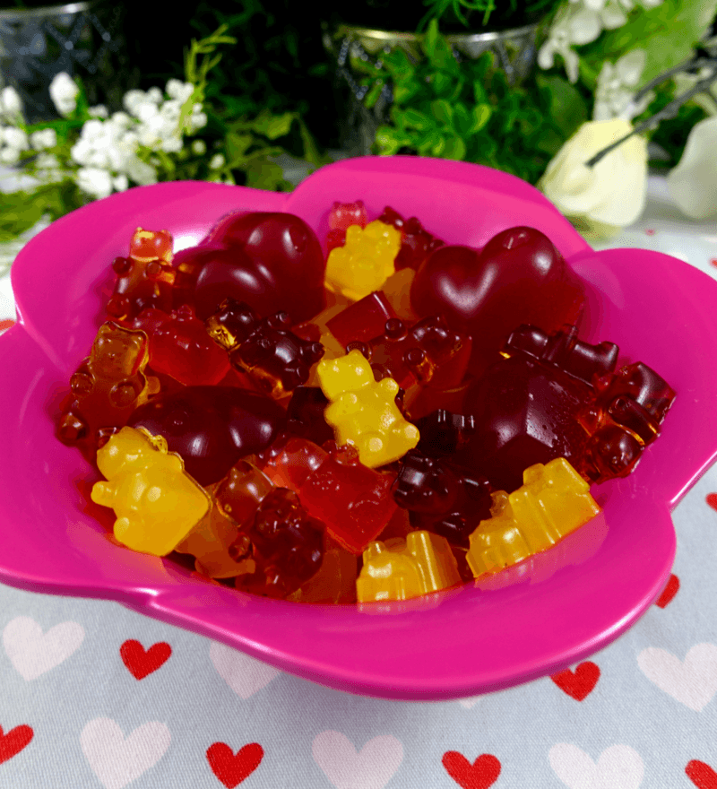 Rezept Gummibärchen ohne Zucker
