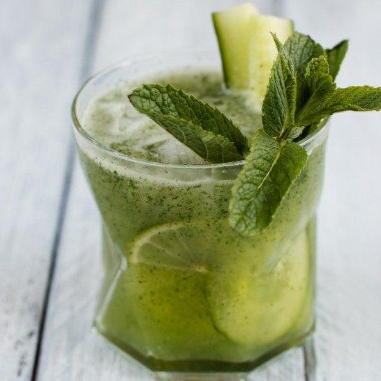 Rezept Gurken-Minz-Koriander-Cooler