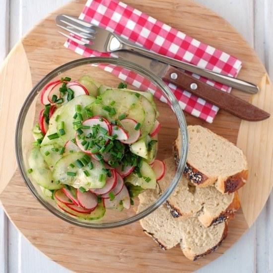 Rezept Gurken-Radieschen-Salat
