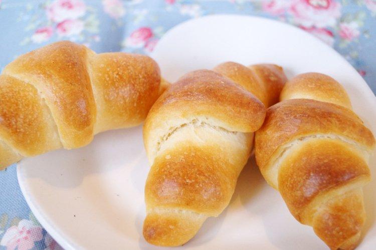 Rezept Gute Laune Croissants / Hefeteig Croissants