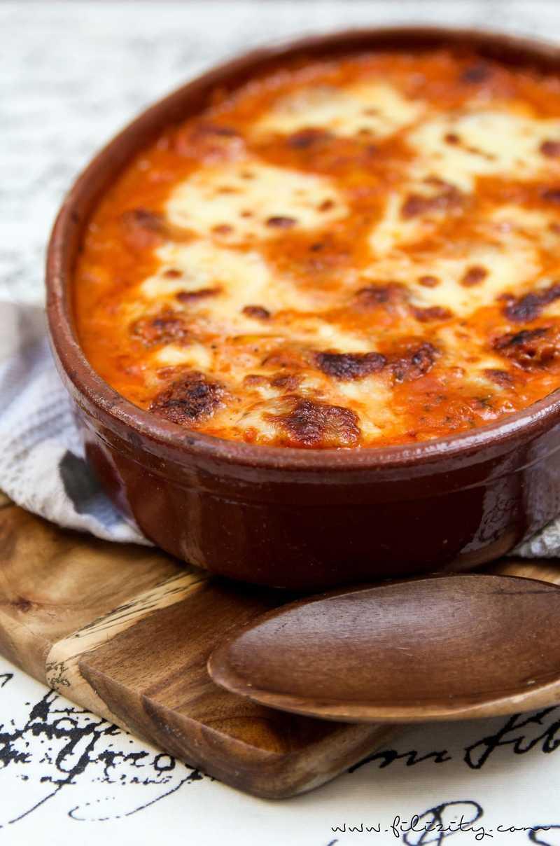 Rezept Hackbällchen Toskana (vegetarisch oder mit Fleisch)