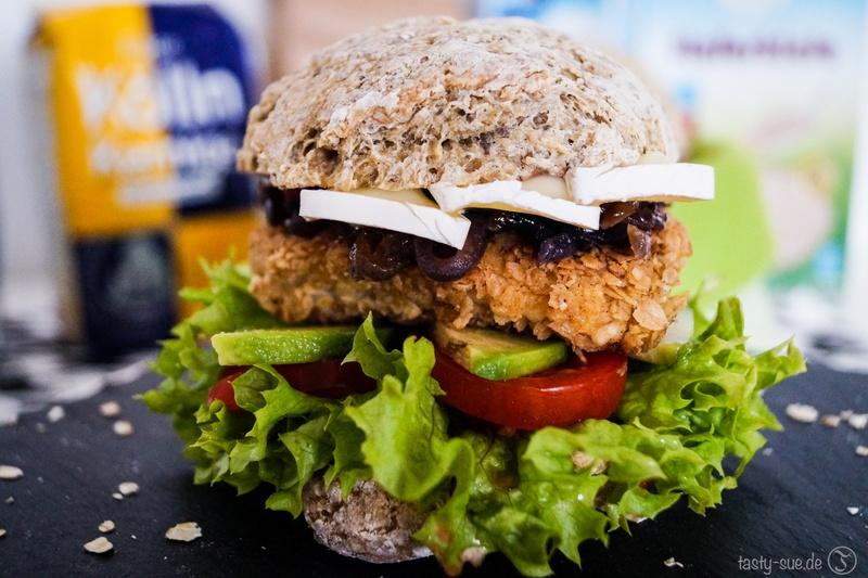 Rezept Hafer Chicken Burger - der Burger ohne Reue