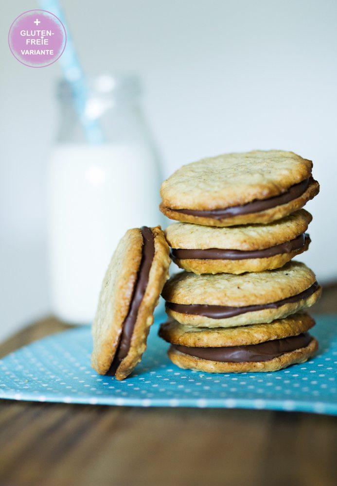 Rezept Hafer-Schoko-Cookies