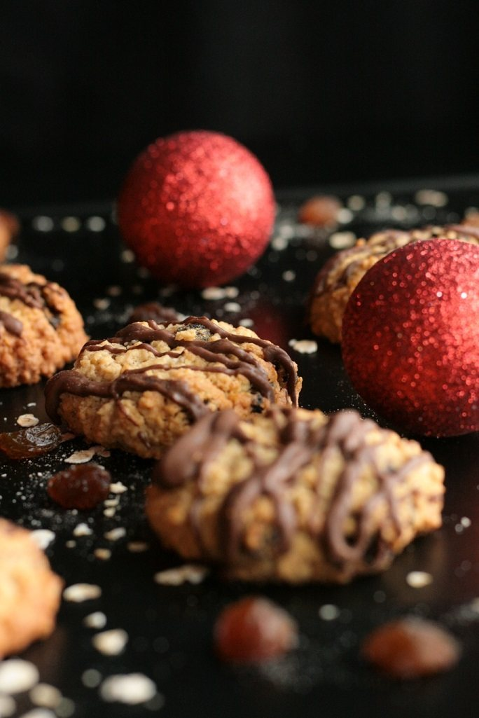 Rezept Haferflocken-Rosinen-Plätzchen