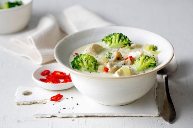 Rezept Hähnchen-Brokkoli-Suppe