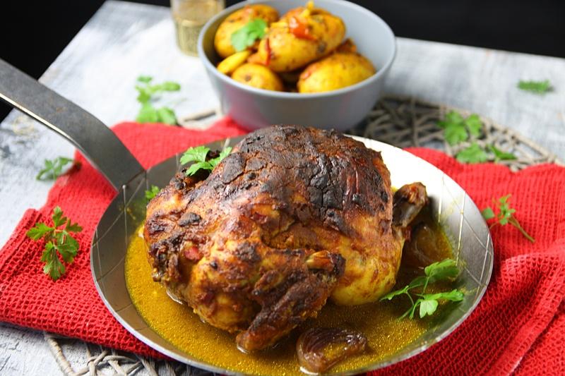 Rezept Hähnchen Indian Style