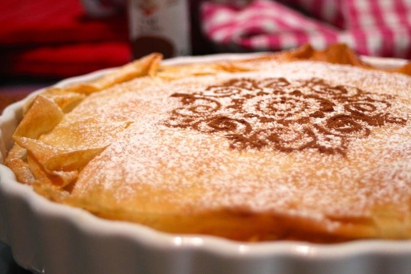 Rezept Hähnchen-Mandel-Pastete mit Zimt