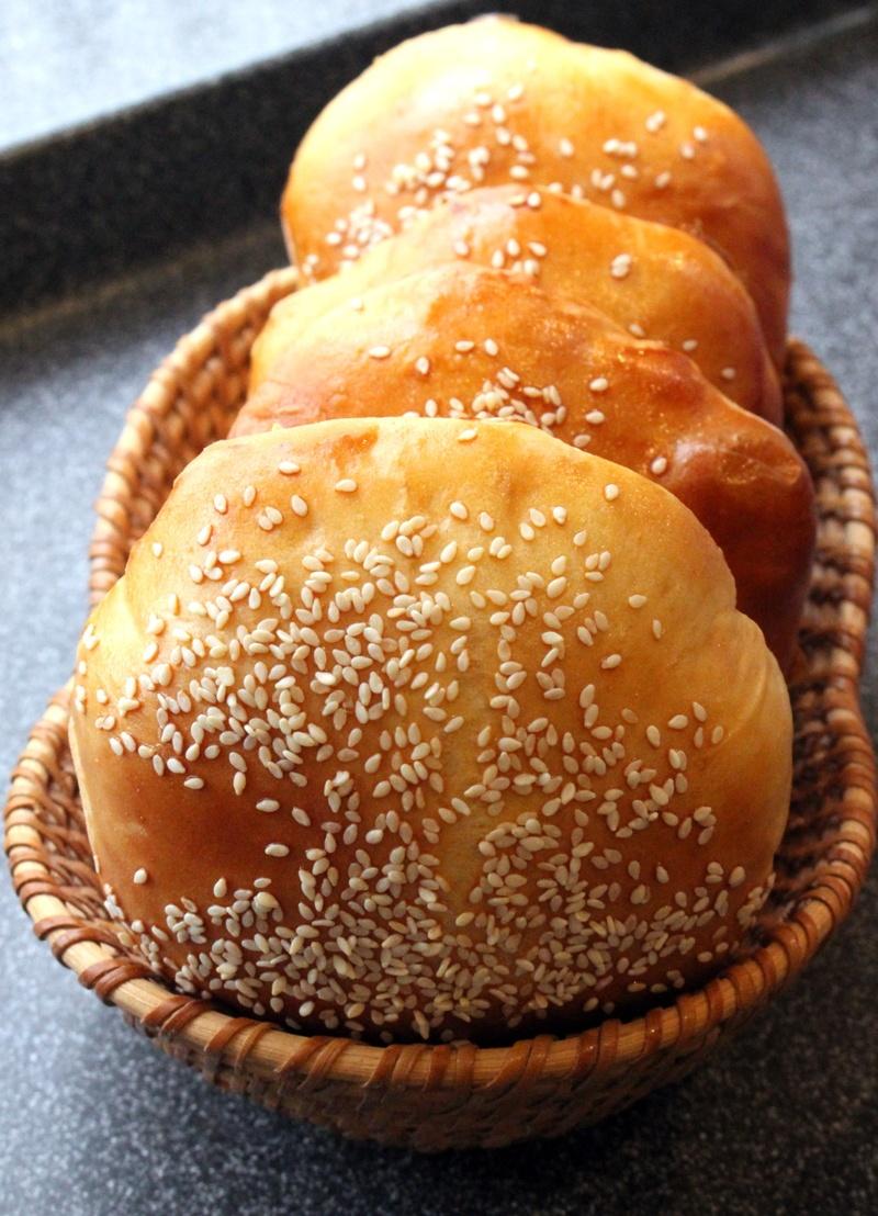Rezept Hamburgger-Broetchen oder Fruehstuecks-Broetchen