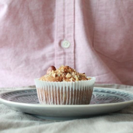 Rezept Haselnuss-Birnen-Muffins
