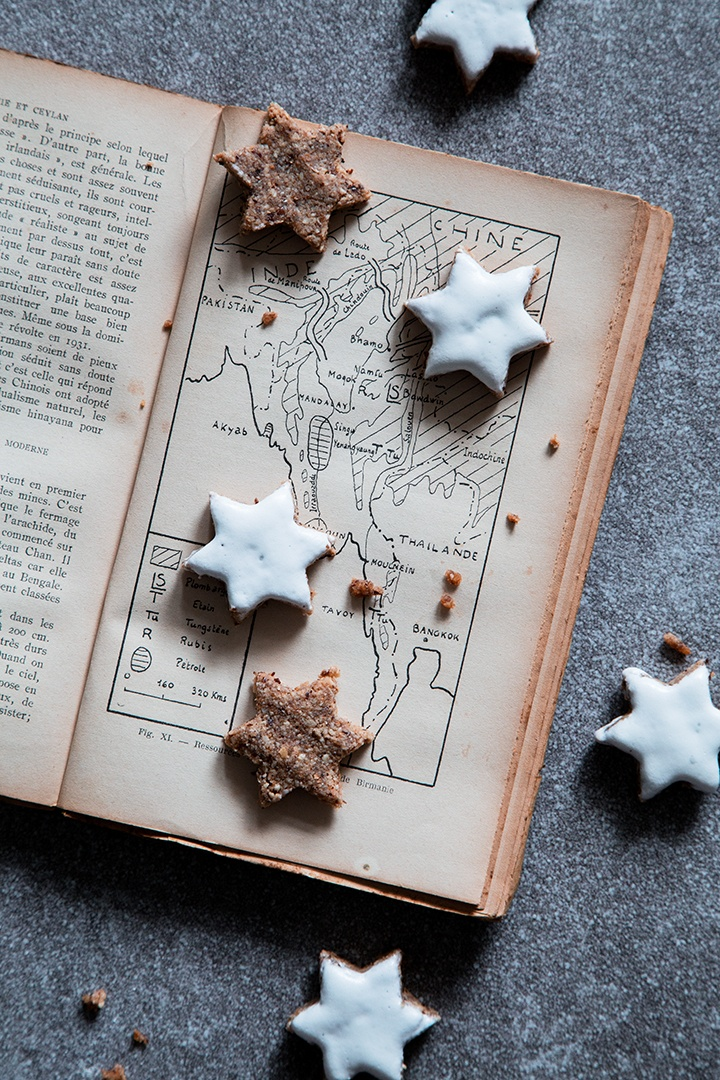Rezept Haselnuss-Gewürz-Sterne