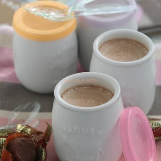 Rezept hausgemachter Joghurt mit Karamell