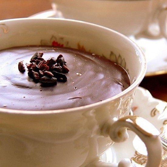 Rezept hausgemachter Schokoladenpudding