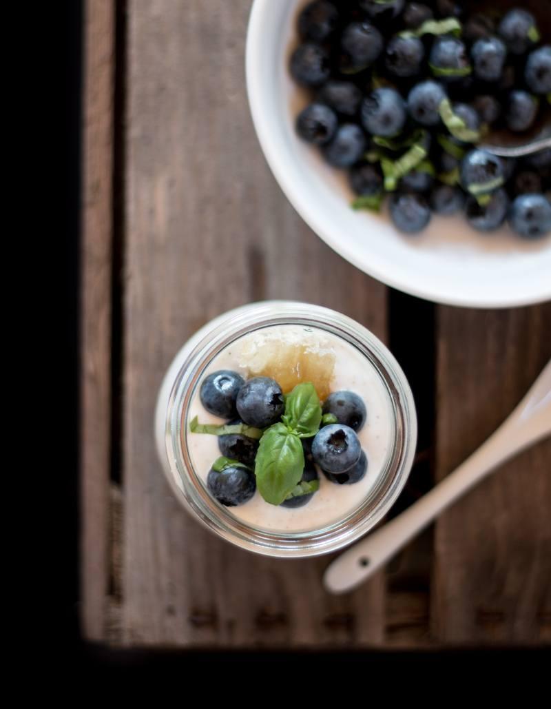 Rezept Heidelbeer Cheesecakes im Glas