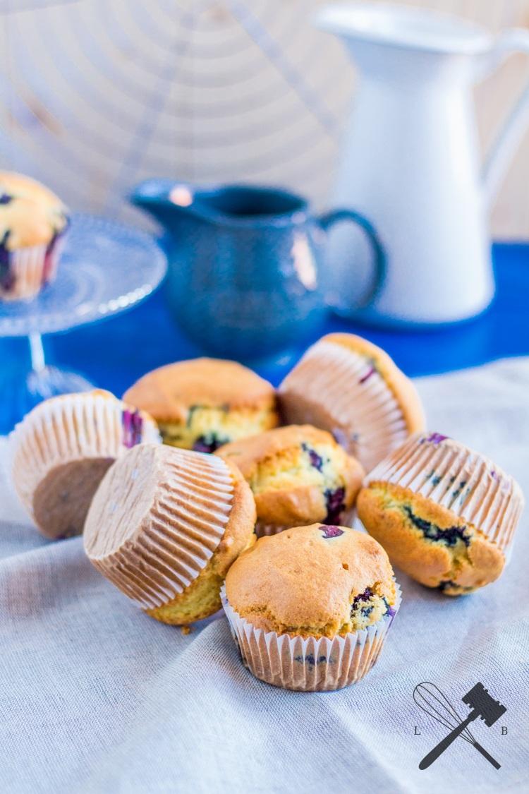 Rezept Heidelbeer Frühstücks Muffin