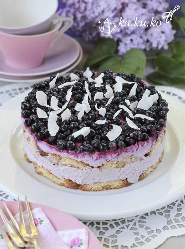 Rezept Heidelbeer-Joghurt-Torte (ohne backen)