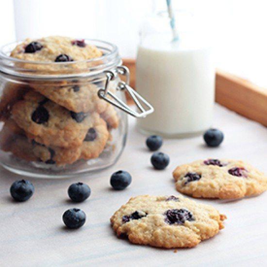 Rezept Heidelbeer-Kokos-Cookies