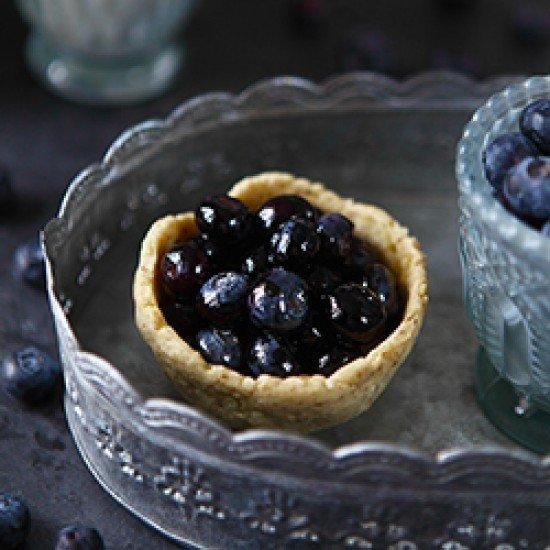 Rezept Heidelbeer-Vanille-Pudding Törtchen