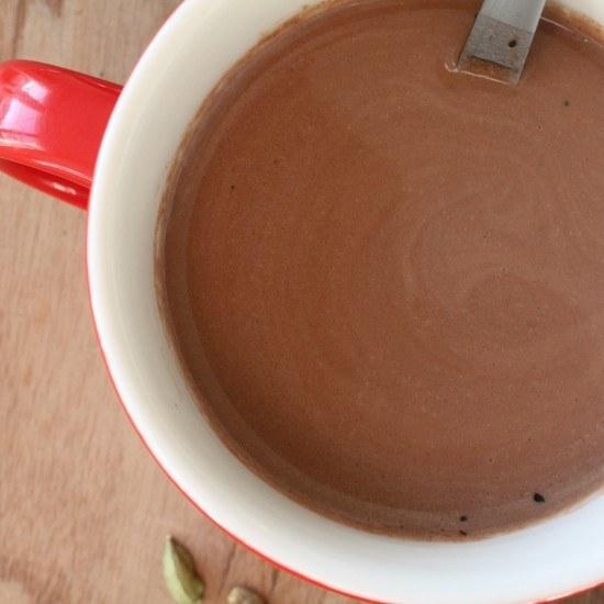 Rezept Heisse Schokolade mit Nussmilch