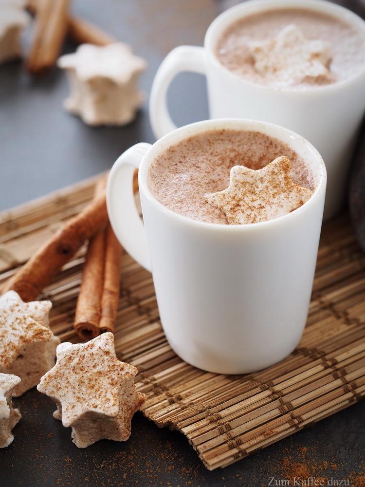 Rezept Heiße Schokolade mit Zimt-Marshmallows