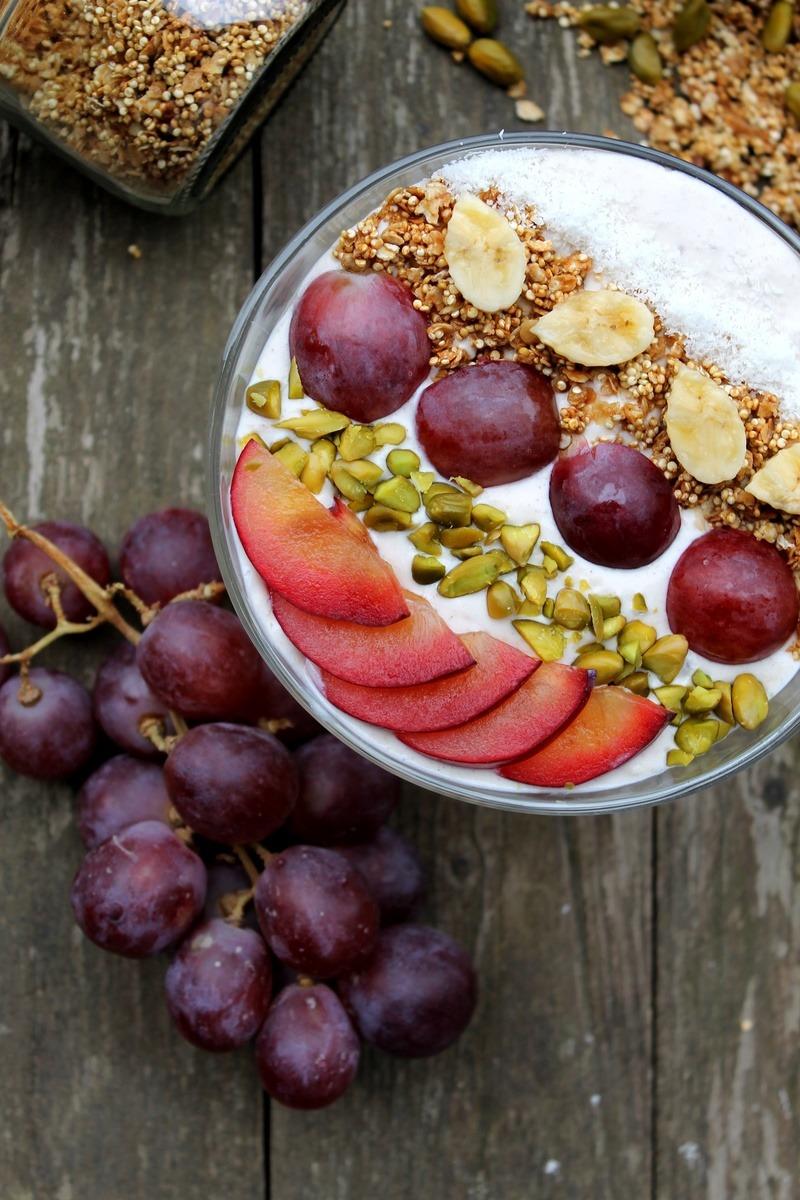 Rezept Herbstliche Smoothie Bowl mit Quinoamüsli