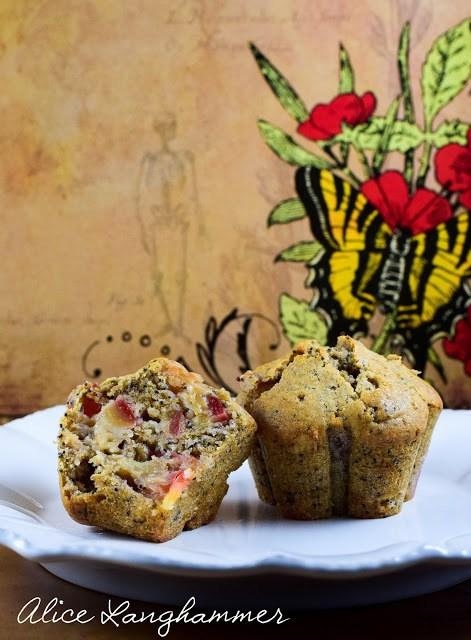 Rezept Herbstmuffins mit Pflaumen und Mohn