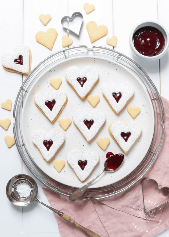 Rezept Herz Kekse – mit Liebe gebacken