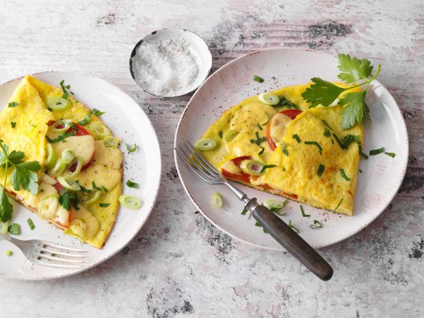 Rezept Herzhafte Gemüse-Omeletts