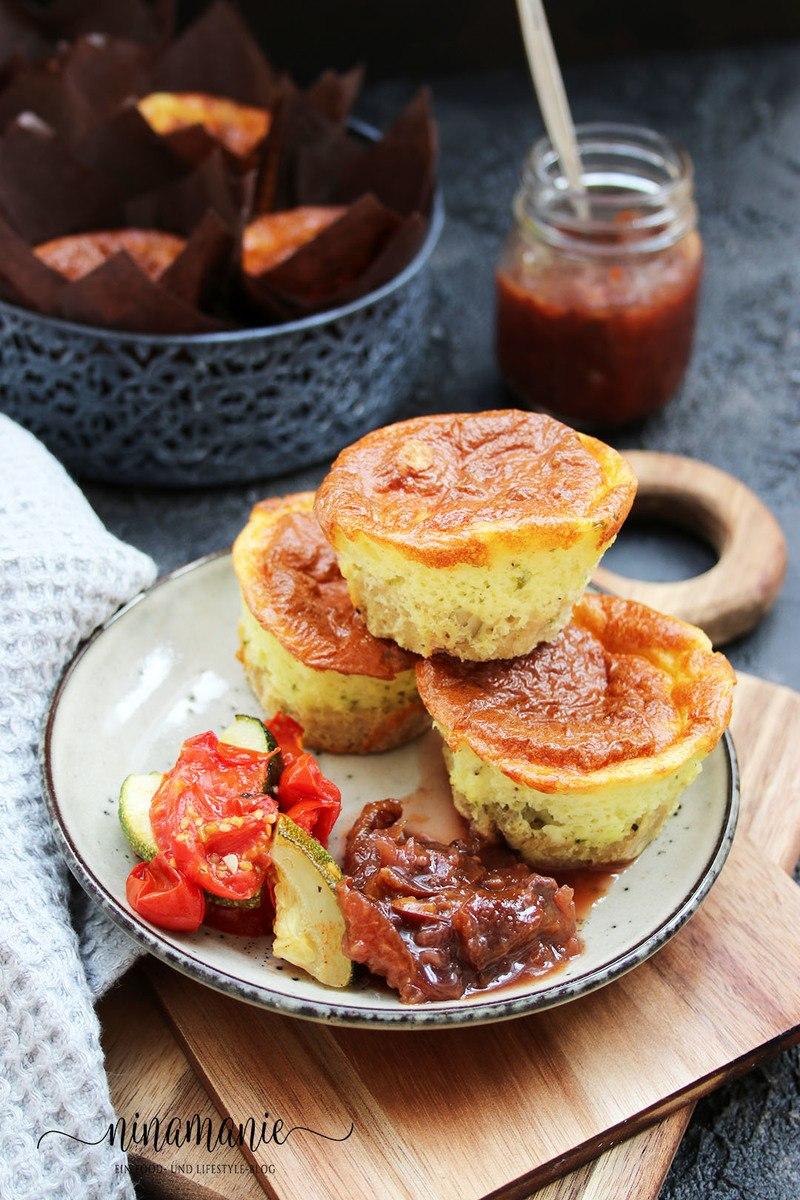 Rezept Herzhafte Käsekuchen-Muffins