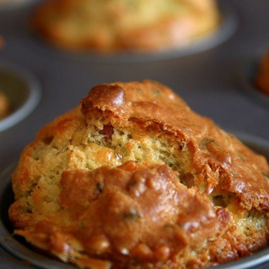 Rezept Herzhafte Muffins