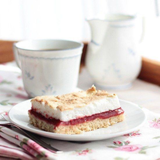 Rezept Himbeer-Baiser-Kuchen