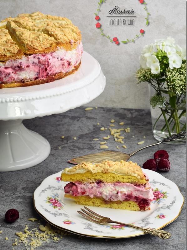 Rezept Himbeer Baiser Torte