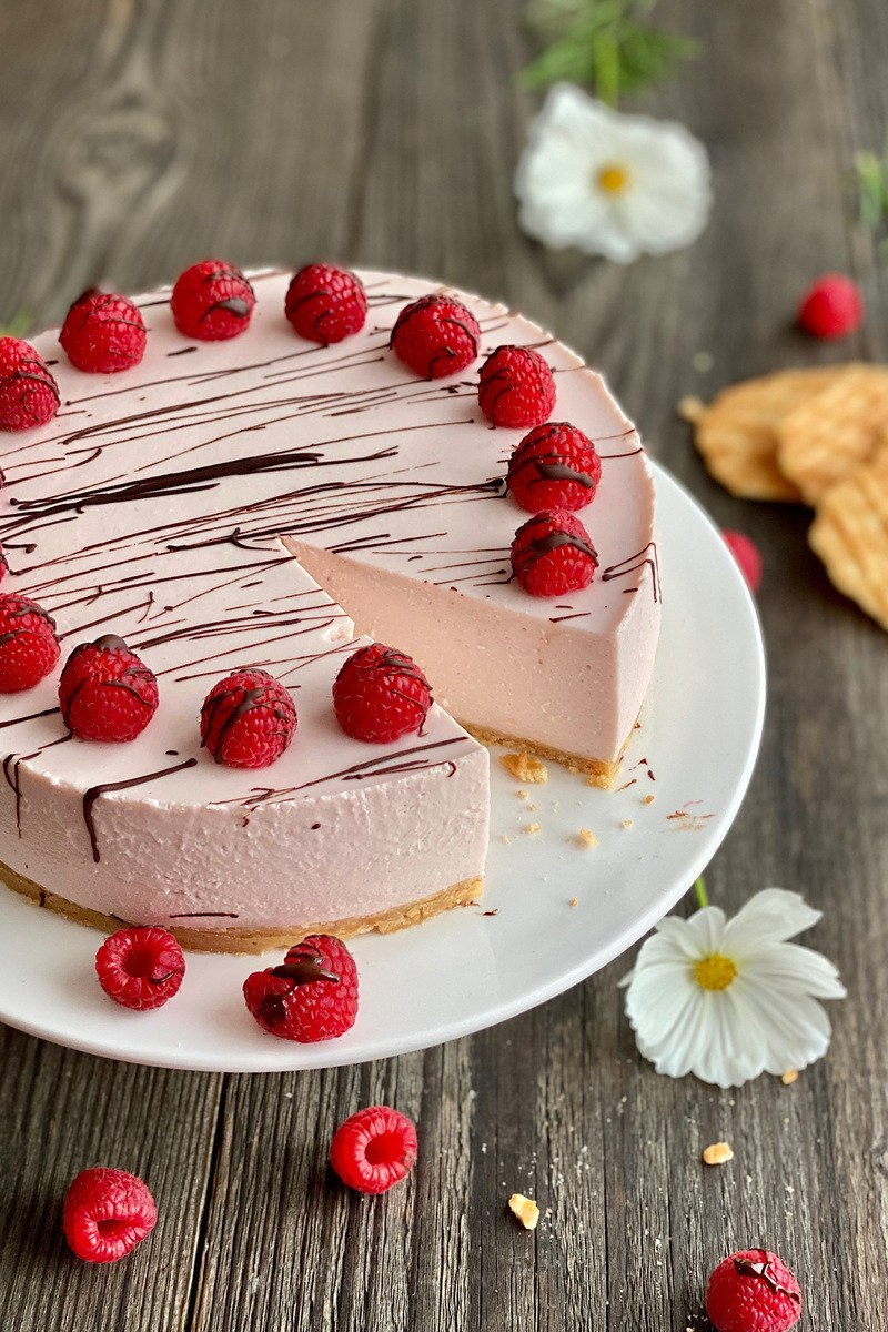 Rezept Himbeer-Cheesecake no-bake