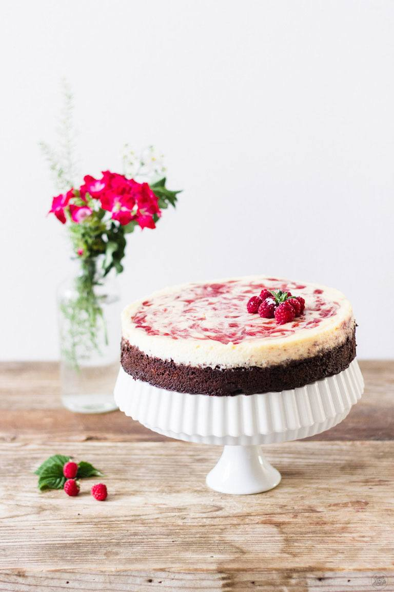 Rezept Himbeer Cheesecake