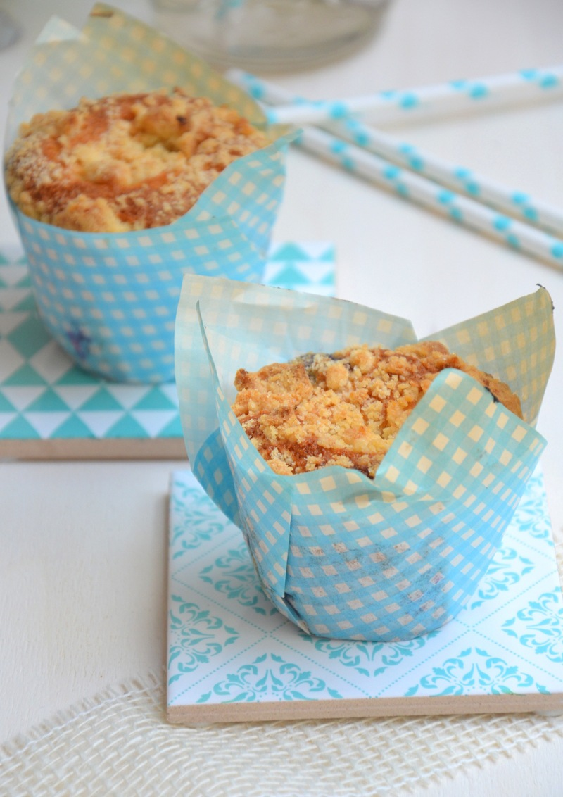 Rezept Himbeer-Crumble-Muffins