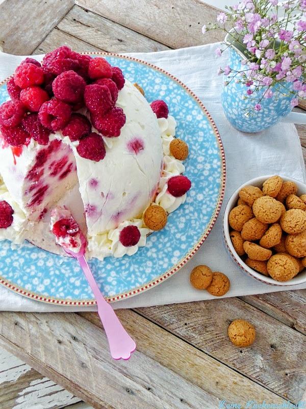 Rezept Himbeer Eistorte mit Amarettini