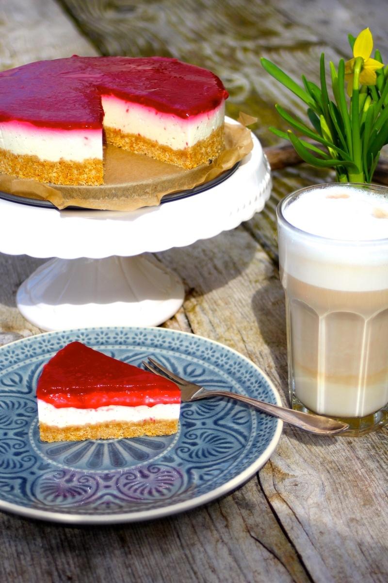 Rezept Himbeer-Joghurt-Cheesecake