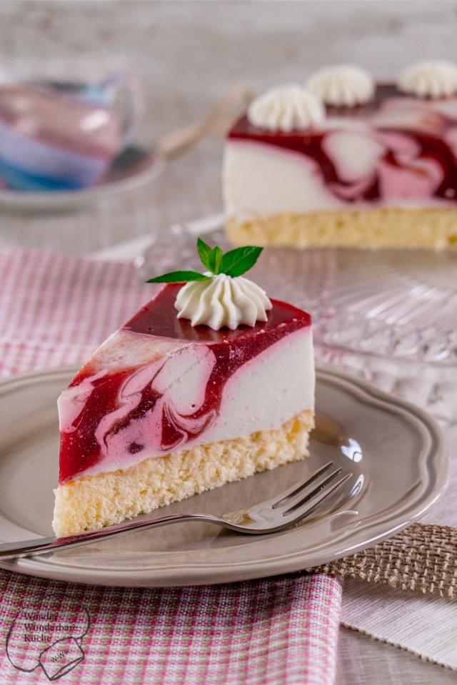 Rezept Himbeer-Joghurt-Torte