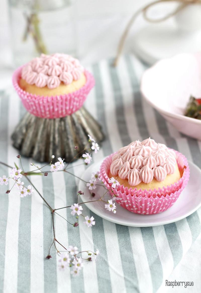 Rezept Himbeer-Kokos-Cupcakes