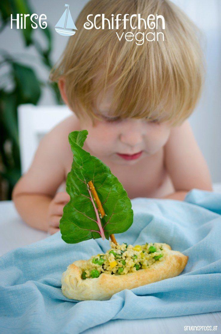 Rezept Hirse-Gemüse-Schiffchen vegan
