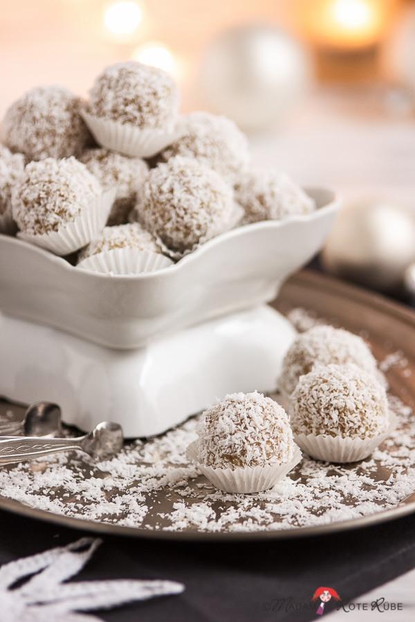 Rezept Hirse-Schneebällchen nach Art der Raffaellos
