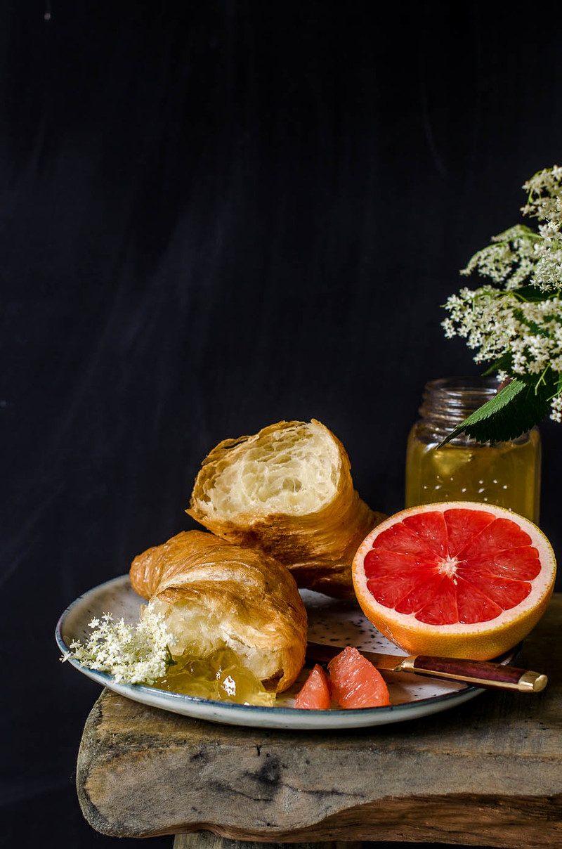Rezept Holunder Prosecco Gelee