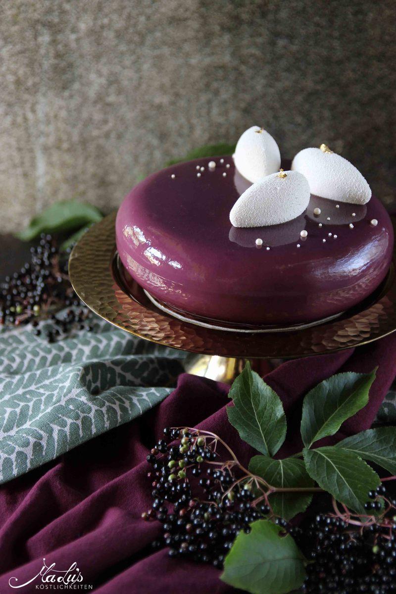 Rezept Holunderbeeren Torte