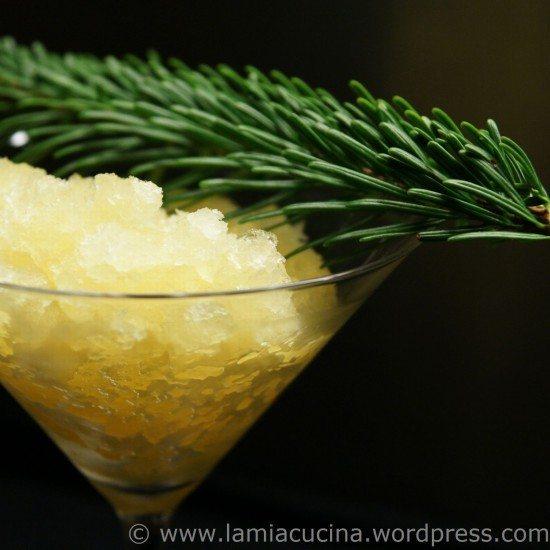 Rezept Holunderblüten-Granitée mit Moscato d'Asti
